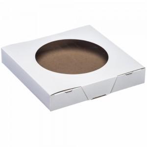 9 X 9 X 1.5 Cake/Pie Box With Window