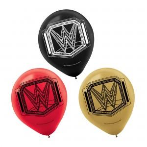 Wwe Smash Latex Balloons - 6Pk