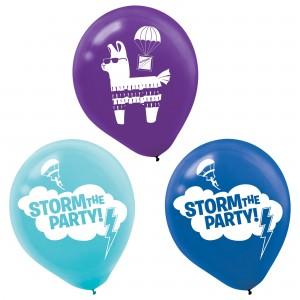 Battle Royal Latex Balloons - 6Pk