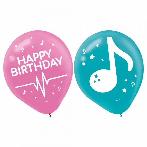 Internet Famous Latex Balloons - 6Pk