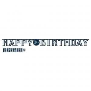 Happy Birthday Jumbo Add Age Banner