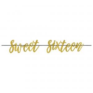 Sweet 16 Letter Banner