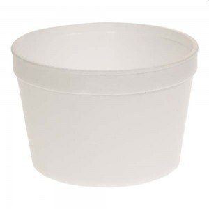 Fibracan 16 oz Round Foam Cont, 25Ct