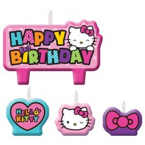 Cndl Set Hello Kitty Rainbow/Disc