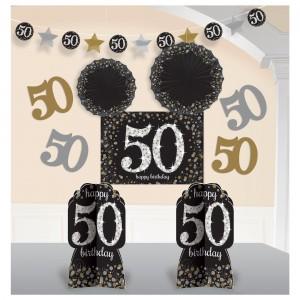 Sparkling Celebration 50 Room Decorating Kit