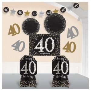 Sparkling Celebration 40 Room Decorating Kit
