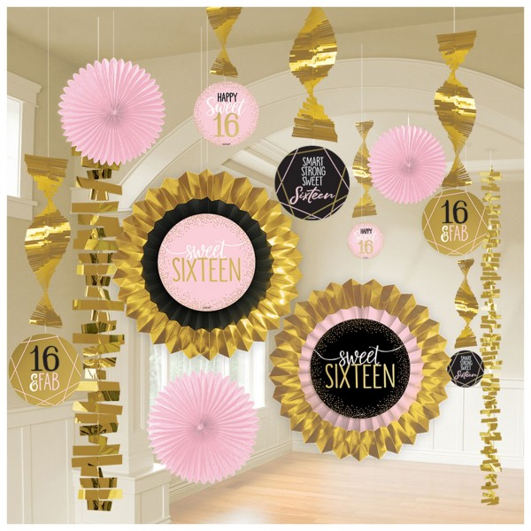 Sweet 16 Decorating Kit