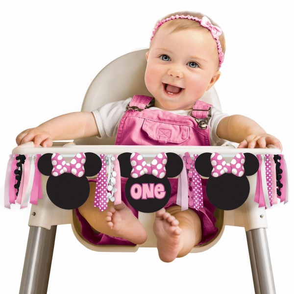 Minnie Mouse Deluxe High Chair Kit