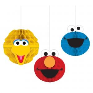 Sesame Street® Honeycomb Decorations