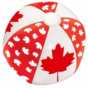 Inflatable Canada Leaf Beach Ball
