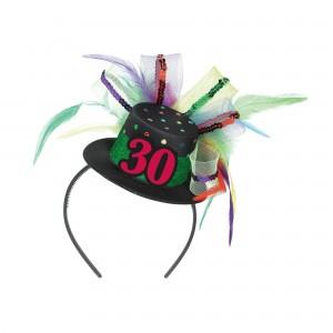 Fascinator 30th Bday