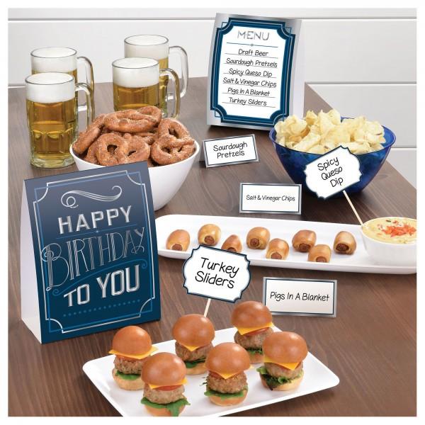 Birthday Man Buffet Decorating Kit