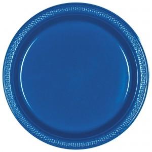 7In Plastic Plates - Kiwi