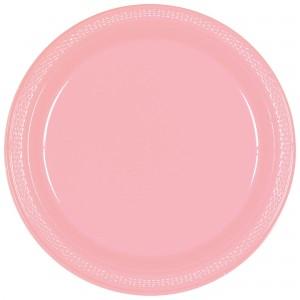 7In Plastic Plates - Caribbean Blue