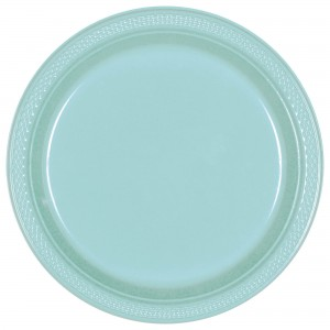 Plastic Plates 7In - French Vanilla