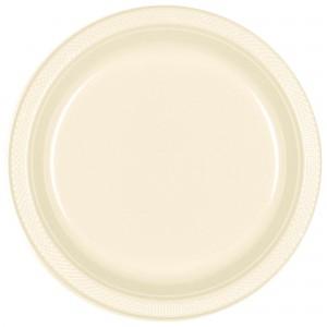 10In Plastic Plates - Yellow Sunshine