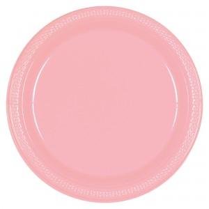 10In Plastic Plates - Caribbean Blue