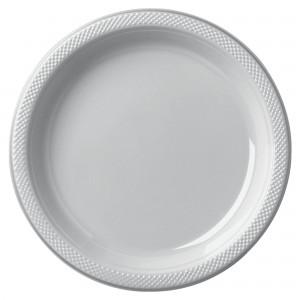 "10.25"" Pls Plate 20 Ct - Magenta/Disc"