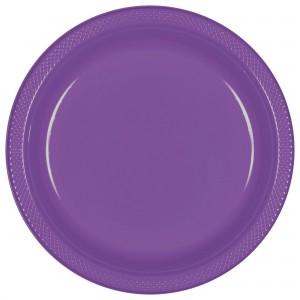 12 oz Pls Bowl 20 Ct - Orange/Disc