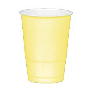 16 oz Plastic Cup 20Ct - Vanilla Creme