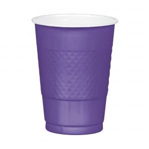 16 oz Plastic Cups - Purple