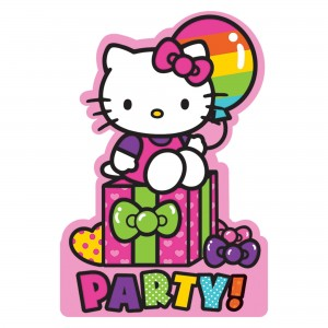 Pstcd Inv Hello Kitty Rainbow/Disc