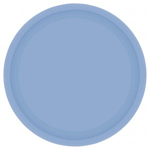 7In Paper Plates - Caribbean Blue