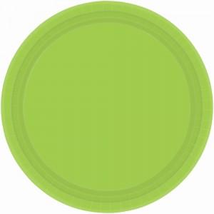 9In Paper Plates - Orange Peel