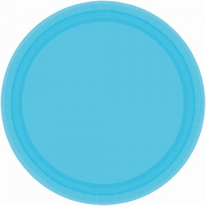 9In Paper Plates - Frosty White