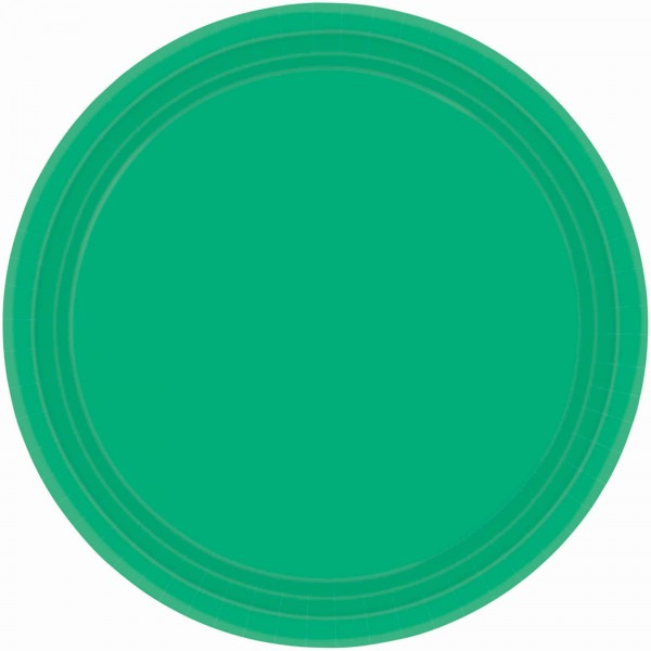 9In Paper Plates - Pastel Blue
