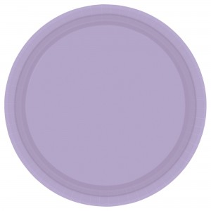 "Plate 9"" Ppr Hi Ct Choclate Brwn/Disc"