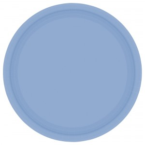 9In Paper Plates - Caribbean Blue