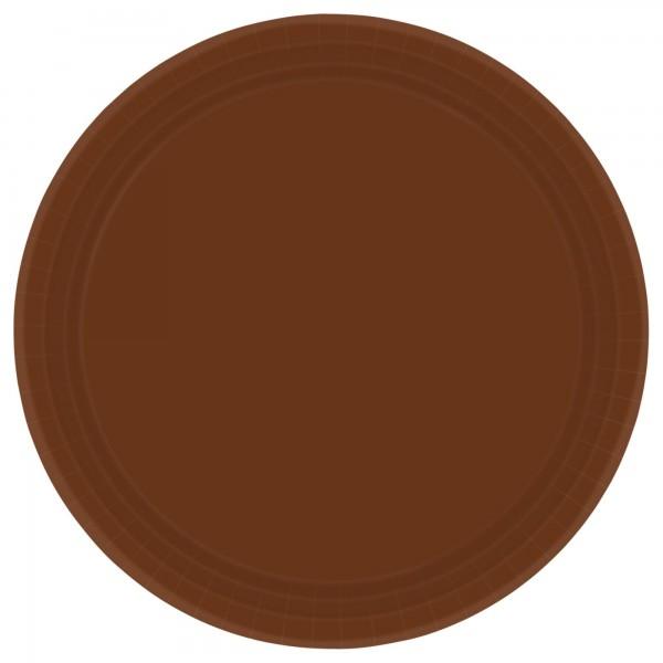 9In Paper Plate - Vanilla Creme