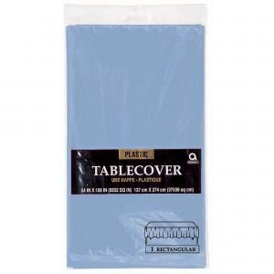 Plastic Tablecover Rect - Vanilla Creme