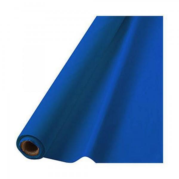 """Plastic Tableroll 40""""X100' Caribbean Blue"""