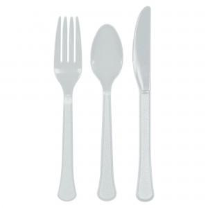 7In Plastic Plates - Lavender